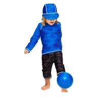 Swimpy - Tricou de baie Fish blue , protectie UV , marime 110-116