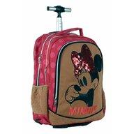 Giovas - Troler pentru copii Paiete Pentru scoala si calatorie Minnie Mouse