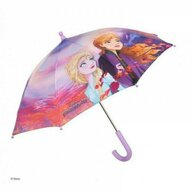 Umbrela manuala 42 cm, Cu inchidere cu siguranta Disney Frosen 2