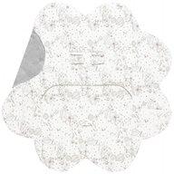 Wallaboo - Paturica floare imprimata, Grey