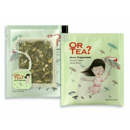 Ceai Ecologic MERRY PEPPERMINT plic 10X2G