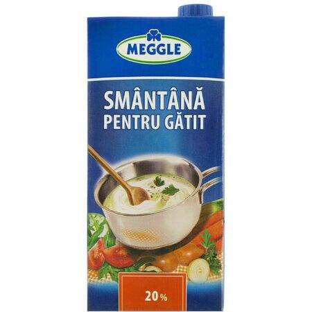 Smantana pentru gatit 20% Meggle 200ml