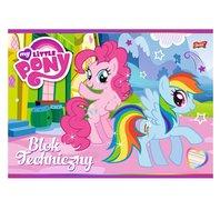 Bloc de desen My Little Pony A4 - 10 file colorate