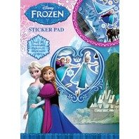 Carte cu stickere Frozen