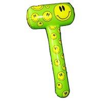Ciocan gonflabil smiley face verde