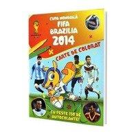 Cupa Mondiala FIFA Brazilia 2014 - Carte de Colorat