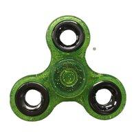 Finger Fidget Spinner Verde stralucitor