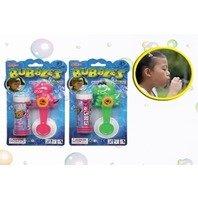 Pistol pentru Balonase de sapun - 40 ml Doua modele Dragoni Verde si Roz