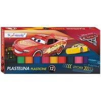 Plastilina Cars 12 culori