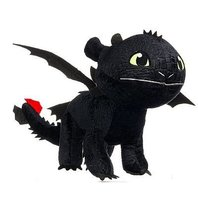 Plus Toothless din Cum sa iti dresezi Dragonul / How To Train Your Dragon (35 cm)