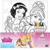 Puzzle de colorat Princess