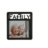 Rama foto Family neagra 30x27 cm