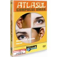 DVD Atlasul Corpului Uman. Realitatea vizuala. Auzul