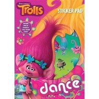 Set de stickere Trolls