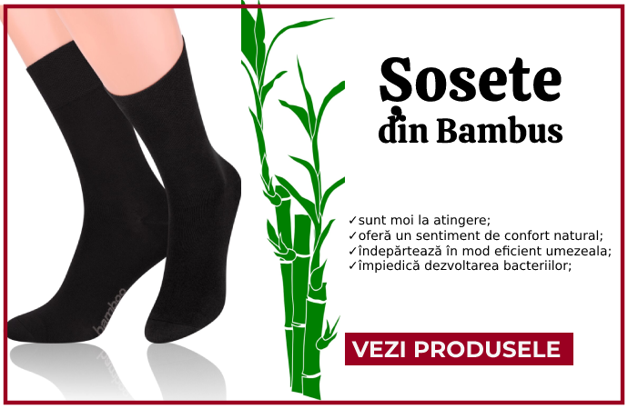 Sosete bambus