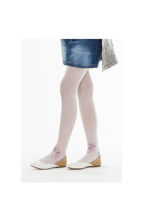 Ciorapi cu model pentru fetite Pretty C81