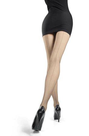 Ciorapi de dama, cu dunga la spate, Iga