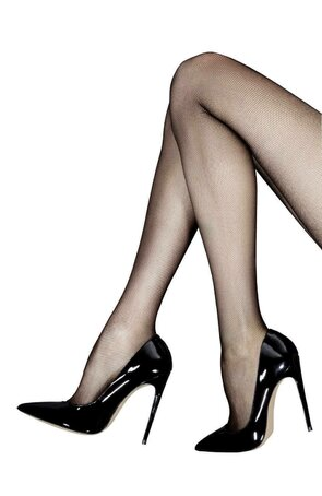 Ciorapi imitatie plasa fina, de dama, Roxana
