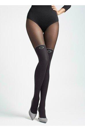 Ciorapi grosi cu model Marilyn Zazu Kiss T01