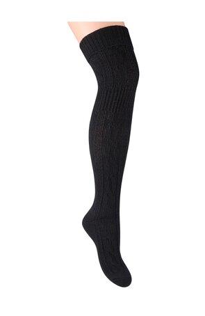 Ciorapi peste genunchi, din lana,  S089-15