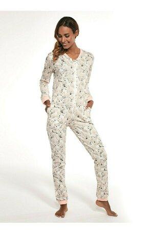 Pijamale tip salopeta dama W107-234