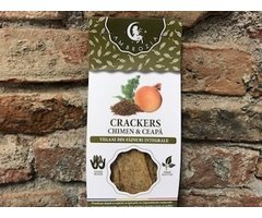 NATURAL CRACKERS CHIMEN SI CEAPA 125 GR