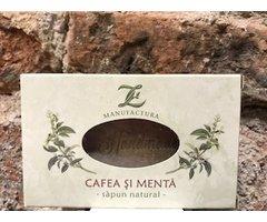 NATURAL SAPUN CU CAFEA SI MENTA 100 GR