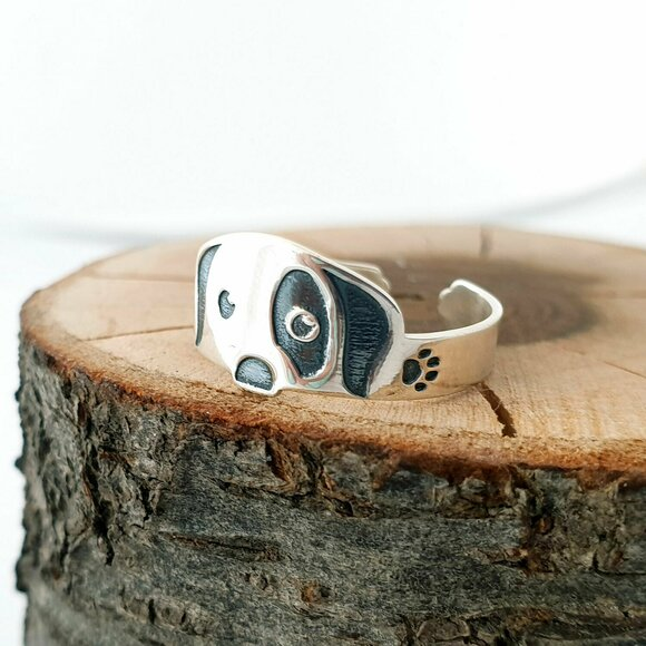 Inel personalizat - Caine - Argint 925