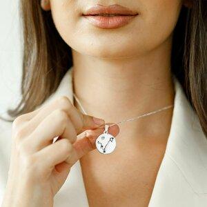 Lantisor personalizat - Constelatia ta - Argint 925 - Cristal Swarovski