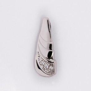 Pandantiv din argint cu pietre de zirconiu 37040
