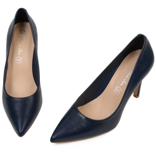 Pantofi din piele naturala Salvatore