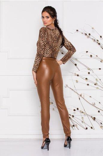 Pantaloni Moze din piele ecologica