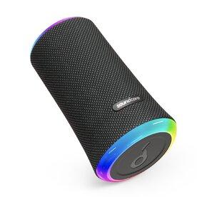 Boxa portabila wireless bluetooth Anker Soundcore Flare 2, 20W, 360° cu lumini LED