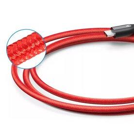 Cablu Micro USB Anker Premium PowerLine+ Nylon 0,91 Metri Rosu