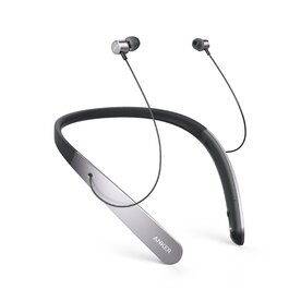 Casti wireless bluetooth Anker Soundbuds Life Neckband Negru/Gri