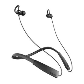 Casti wireless bluetooth Anker Soundbuds Rise Neckband Sport, CVC 6.0 Noise Cancelling, Negru