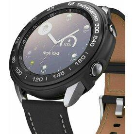 Combo Husa Ringke Air Sports si rama ornamentala Galaxy Watch 3 41mm