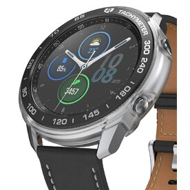 Combo Husa Ringke Air Sports si rama ornamentala Galaxy Watch 3 45mm