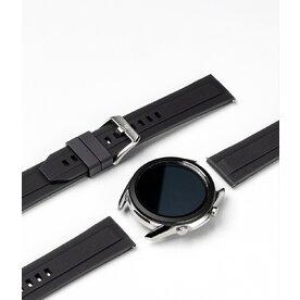 Curea smartwatch Ringke Rubber One Band pentru Galaxy Watch 3 41mm, marime 20mm, TPU, Negru