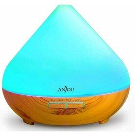 Difuzor aroma terapie Anjou TT-AD001 cu LED 7 culori, auto oprire