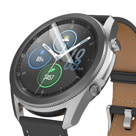 Folie sticla Samsung Galaxy Watch 3 45mm Ringke Easy Flex (Set 3 bucati, 2+1 GRATIS)