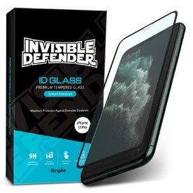 Folie sticla securizata Apple iPhone 11 Pro / XS Premium Ringke 3D Invisible Screen Defender