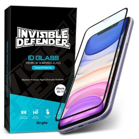 Folie sticla securizata Apple iPhone 11 / XR Premium Ringke 3D Invisible Screen Defender
