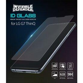 Folie sticla securizata LG G7 ThinQ 9H 0,33 mm Ringke ID Glass (Set 3 bucati, 2+1 GRATIS)