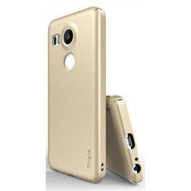 Husa Google Nexus 5X 2015 Ringke SLIM ROYAL GOLD+BONUS folie protectie display Ringke