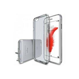 Husa iPhone 6 Plus / iPhone 6s Plus Ringke Air SMOKE BLACK + BONUS folie protectie display Ringke