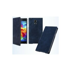Husa LG G3 Arium Mustang Flip Book Battery Cover albastru navy