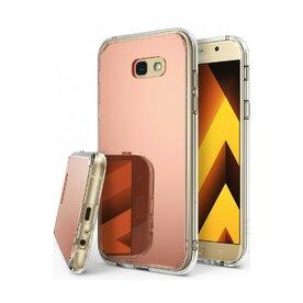 Husa Samsung Galaxy A5 2017 Ringke MIRROR ROSE GOLD + BONUS folie protectie display Ringke