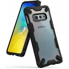 Husa Samsung Galaxy S10e Ringke FUSION X Design Hexagon Black