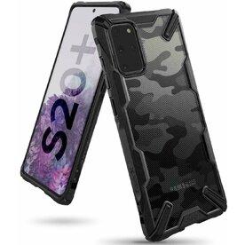 Husa Samsung Galaxy S20 Plus Ringke FUSION X Design Negru Camuflaj